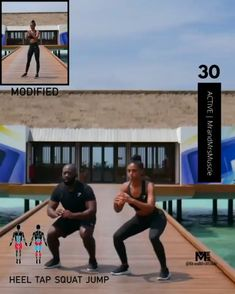 A full body HIIT workout — no equipment required Improve heart health, increase fat loss and strengthen and tone your muscles . Hiit Workout Plan, Full Body Hiit Workout, Gym Workout Videos, Fitness Workout For Women, Butt Workout, Workout Challenge, Easy Workouts, Tabata, Fitness Tracker