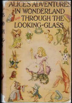 1930 - 1939 - Lewis Carroll - illustrating Alice in Wonderland 1930 - 2012