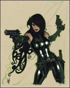 MADAME HYDRA by Adam Hughes