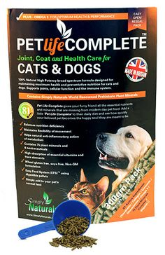 Minerals for you pets too - keep them at their optimum health :)