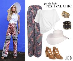 Coachella might be over but festival chic season is just beginning! Get these pants at Dillard's soon.