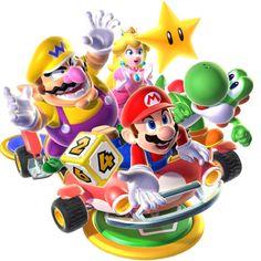 Mario Party 9 - Mario, Yoshi, Peach, and Wario