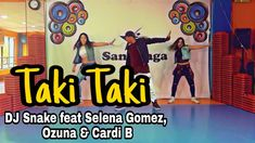 Taki Taki - DJ Snake feat Selena Gomez, Ozuna & Cardi B / Coreografia Zumba Workout Videos, Cardi B, Selena Gomez, Dj, Health Fitness, Family Guy, Exercise, Dance, Songs