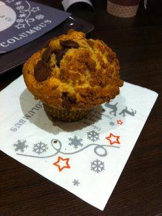 Muffin Spéculoos/Chocolat au lait columbus cafe Nice par Soso O. - Food Reporter
