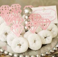 Diamond donuts