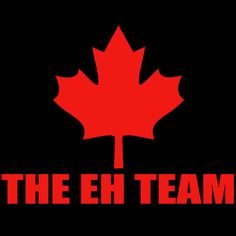 The EH Team Silly Handmade to Order Canadian Tee by PinkOwlTees, $15.95 #capsteam