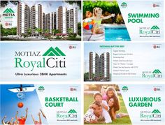Luxurious Facilities under one roof #MotiazRoyalCiti