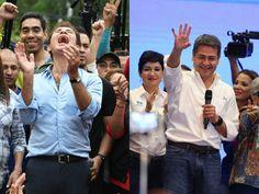 Los candidatos presidenciales de la Alianza de Oposición y del Partido Nacional se han autoproclamado ganadores. (Foto: El Heraldo Honduras/ Noticias Honduras hoy)