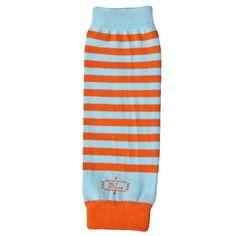 Leg Warmers - Lil' Orange/Aqua