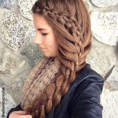"""Beautiful braid  @esthershairstyles"" Photo taken by @perfecthairpics on Instagram, pinned via the InstaPin iOS App! http://www.instapinapp.com (11/24/2015)"