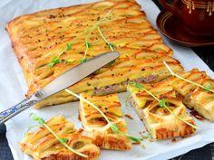 Пирог из слоеного теста с сытной начинкой. Рецепты домашней выпечки в кулинарном блоге Татьяны М.