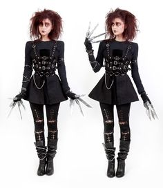 edward scissorhands costume - Google Search                                                                                                                                                                                 More