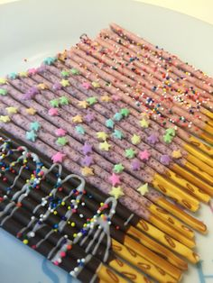 DIY pepero day treats! #chocosticks #chocolate #pepero