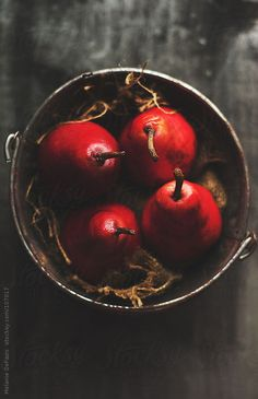 Red Pear by Melanie DeFazio. An exclusive image for Stocksy.com.