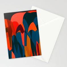 African Night Stationery Cards by Mirimo | Society6