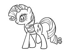 My Little Pony: Friendship Is Magic series, products and pictures are absolute favorites of little girls. Your little princesses might already have many of the toys and merchandising goods of the franchise. Let them now experience the fun, imaginative interaction with My Little Pony coloring pages. They are already friends with My Little Pony episodes …