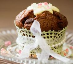 Luscious chocolate muffins. These goodies will be ready in only 30 minutes.