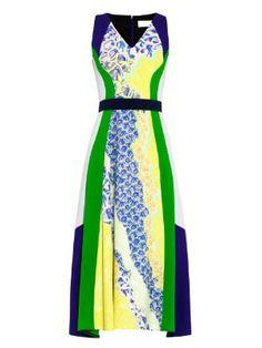 Vapor contrast-panel dress | Peter Pilotto | MATCHESFASHION.COM US