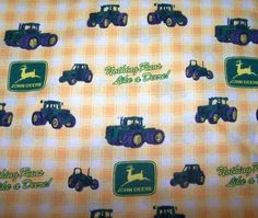 John Deere tractor fitted crib or toddler bed sheet Ipod, Toddler Bed Sheets, John Deere Tractors, Kids Bedroom, Cribs, Nursery, Baby, Cots, Bassinet
