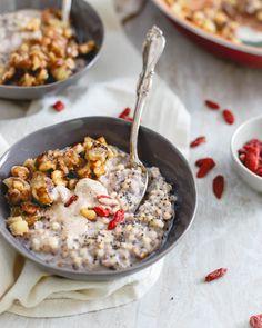 This warm quinoa cer