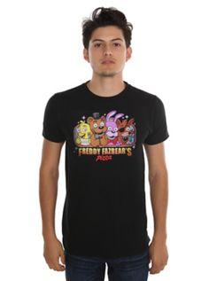 Five Nights At Freddy's Freddy Fazbear's Pizza T-Shirt