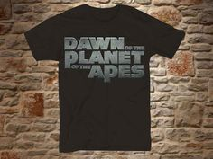 dawn of the planet of the apes a 100 cotton by communityshirt, $15.50
