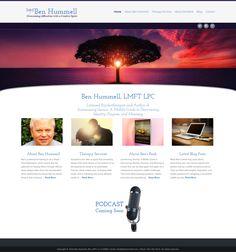 www.BenHummell.com Portfolio Website, Web Design, Books, Livros, Design Web, Livres, Book, Website Designs, Libri