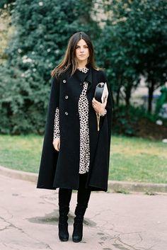 Paris Fashion Week AW 2014....Julia