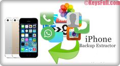 iPhone Backup Extractor 7.2.3.1259 Crack Full Keygen Download