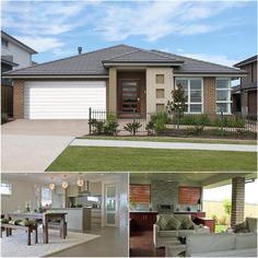 Create your #NewHome with this well-appointed #kitchen & beautiful outdoor #alfresco by #ProvincialHomes. Have a visit in #GledswoodHills. #ModernDesign #Luxury #Modern #InteriorDesign #Houses #House #HomeDesign #YourHome #Home #HouseDesign