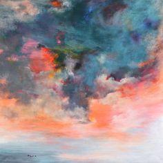 """Lovely!  Saatchi Online Artist Rikka Ayasaki; Painting, """"Passions 5061""""."""
