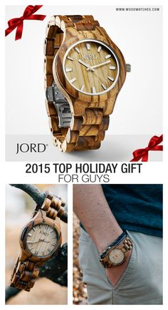 Time with the one you love is always well spent. Give them a gift to remember, a natural wood watch from JORD! Wood represents strength and endurance making it the perfect gift to celebrate your time together. Gifts For Him, Great Gifts, Wooden Watches For Men, Fitness Gifts, Swagg, Jewelery, Fashion Accessories, Casual, Husband
