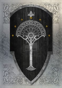 2nd Age Gondorian Shield by Rvdricvs on DeviantArt