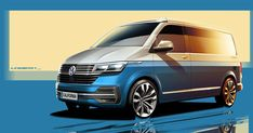The Californian motorhome of Volkswagen receives a youthful impulse of latest expertise — Autos. Transporter Van, Volkswagen Transporter, Vw T1, Volkswagen California, Volvo Hybrid, T6 Bus, Caravan Salon, Volkswagen Group, Volvo Xc90