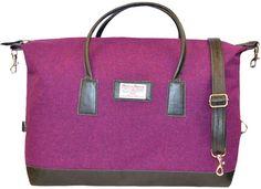 Harris Tweed weekend luggage bag...love!
