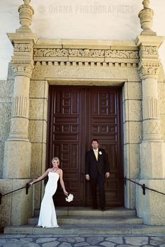 santa barbara courthouse wedding #wedding