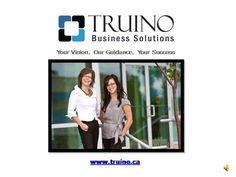 Truino Business Solutions by truino via authorSTREAM