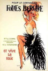 Vintage Folies poster