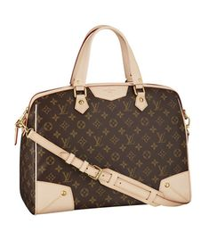 Louis Vuitton Monogram Canvas Retiro GM Bag