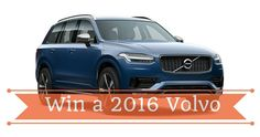 Win a 2016 Volvo Volvo, Competition, Car, Automobile, Vehicles, Cars, Autos