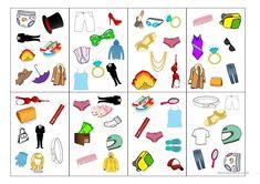 Spot-it card game (clothes) worksheet - Free ESL projectable worksheets made by teachers Vocabulary Clothes, Clothes Worksheet, Teaching Jobs, Card Games, Worksheets, Kids Rugs, Cards, Blog, Esl