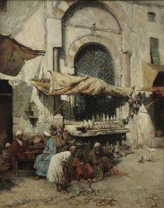 PAVY Philippe (1860 – ??) A Marketplace, Cairo. 1890 PECZELY Antal (Anton) (1891 – 1944) Arabs Playing Chess. PECZELY Antal (Anton) (1891 – 1944) Discussing the next move. PECZELY Antal (Anton) (1891 – 1944) Sakkozo arabok. PECZELY Antal (Anton) (1891 – 1944) Sakkozo…