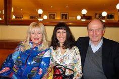 Die Autorin Christine Eichel, Katell Gélébart und der Scorpio Verleger Christian Strasser