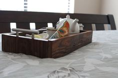 Ready to Ship Mirrored Serving Tray  Kitchen Tray  by HurdandHoney