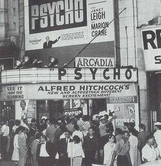 Premier of Psycho, November 1, 1961
