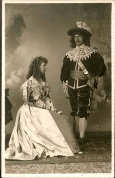 Crown Prince Ferdinand of Romania and Crown Princess Marie - masked ball. Princess Alexandra, Princess Beatrice, Prince And Princess, Princess Victoria, Queen Victoria, Romanian Royal Family, My Family History, Ferdinand, Lady And Gentlemen