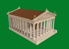 Roman Temple reconstruction