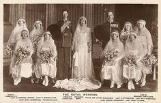 Wedding of Princess Mary and Viscount Lascelles 1922 - Queen Elizabeth The Queen Mother - Wikipedia, the free encyclopedia