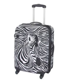 See the zebra?? Take a look at this Zebra 22'' ABS Wheeled Packing Case by it luggage on #zulily toda $119 !!