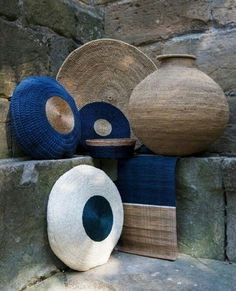 Using Art and Crafts in African Decor African Interior Design, African Design, African Art, Home Interior Design, Interior Styling, Ethno Design, Home Decor Baskets, African Home Decor, Basket Weaving